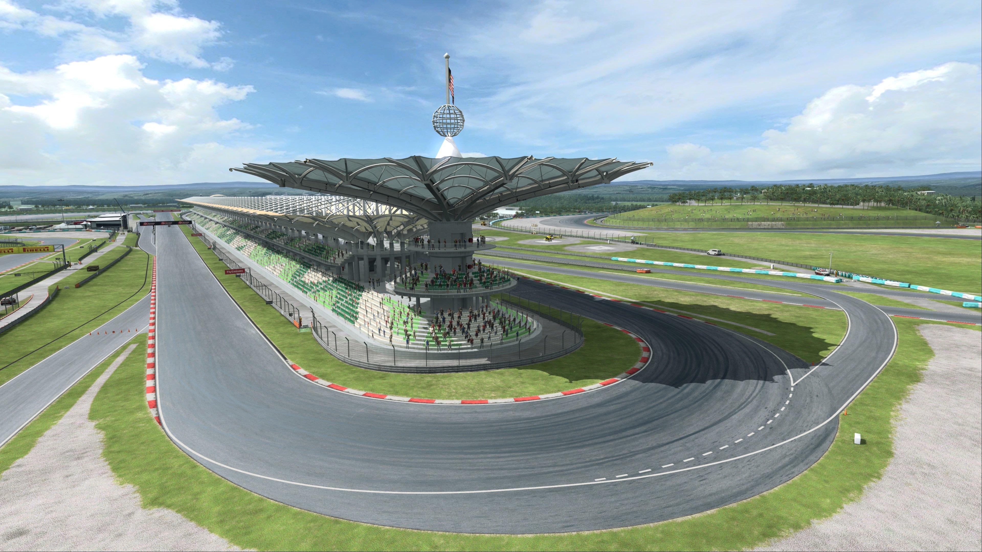 RaceRoom Sepang International Circuit Preview 8
