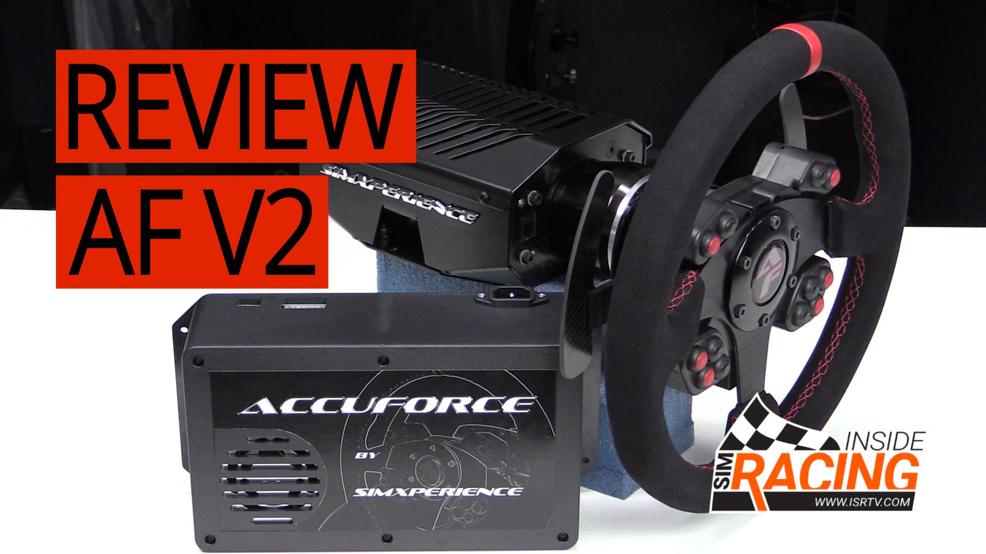 SimXperience AccuForce Pro V2 Direct Drive Wheel Review