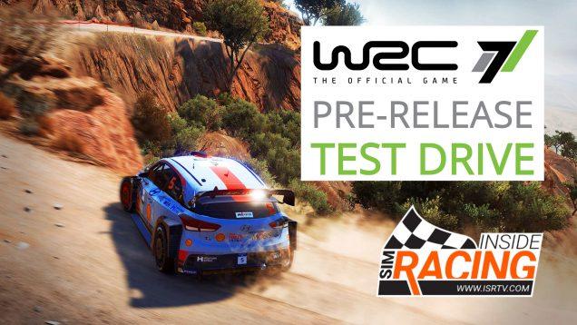 WRC 7 Test Drive