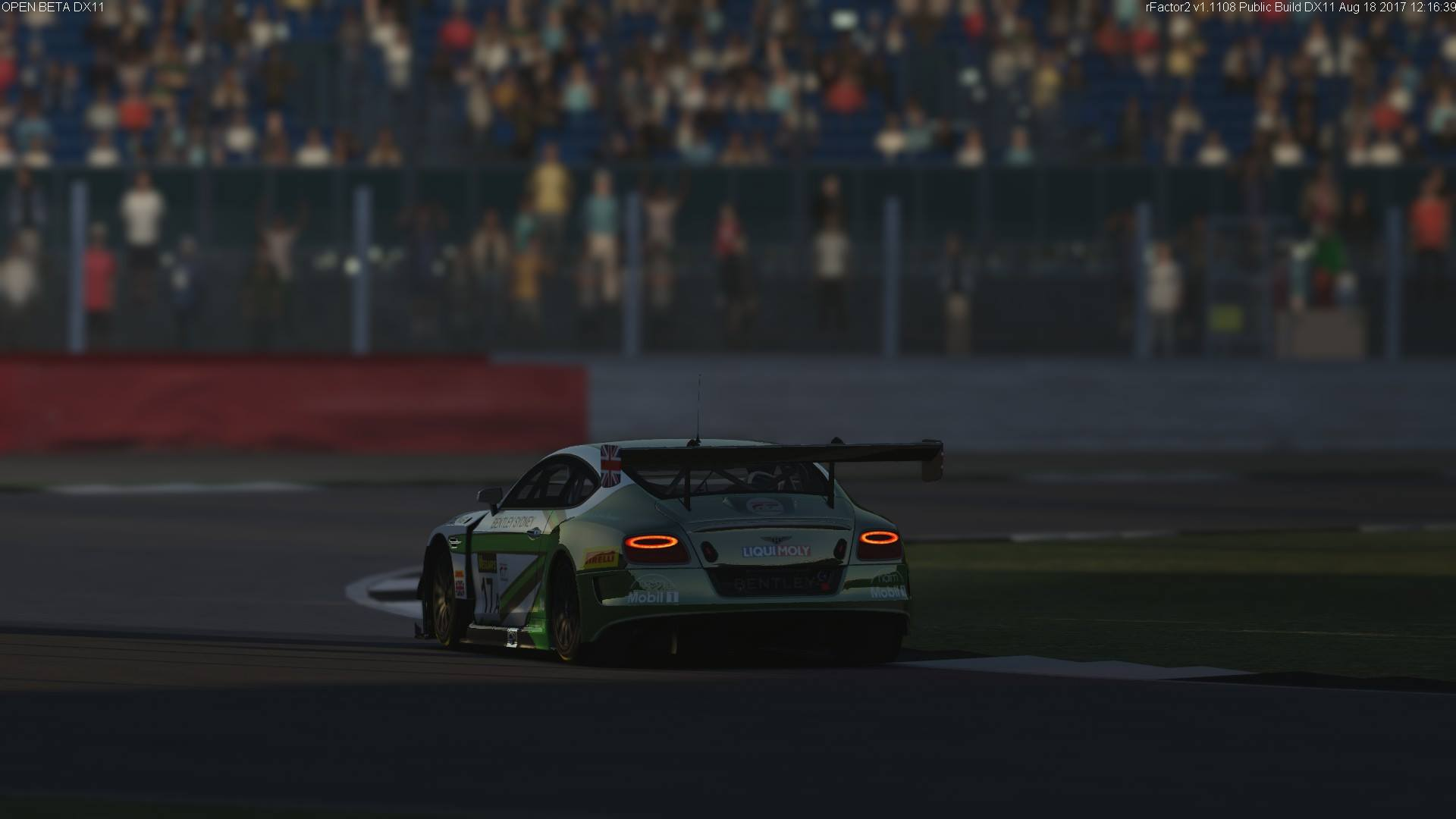 rFactor 2 Bentley Continental GT3 preview 1
