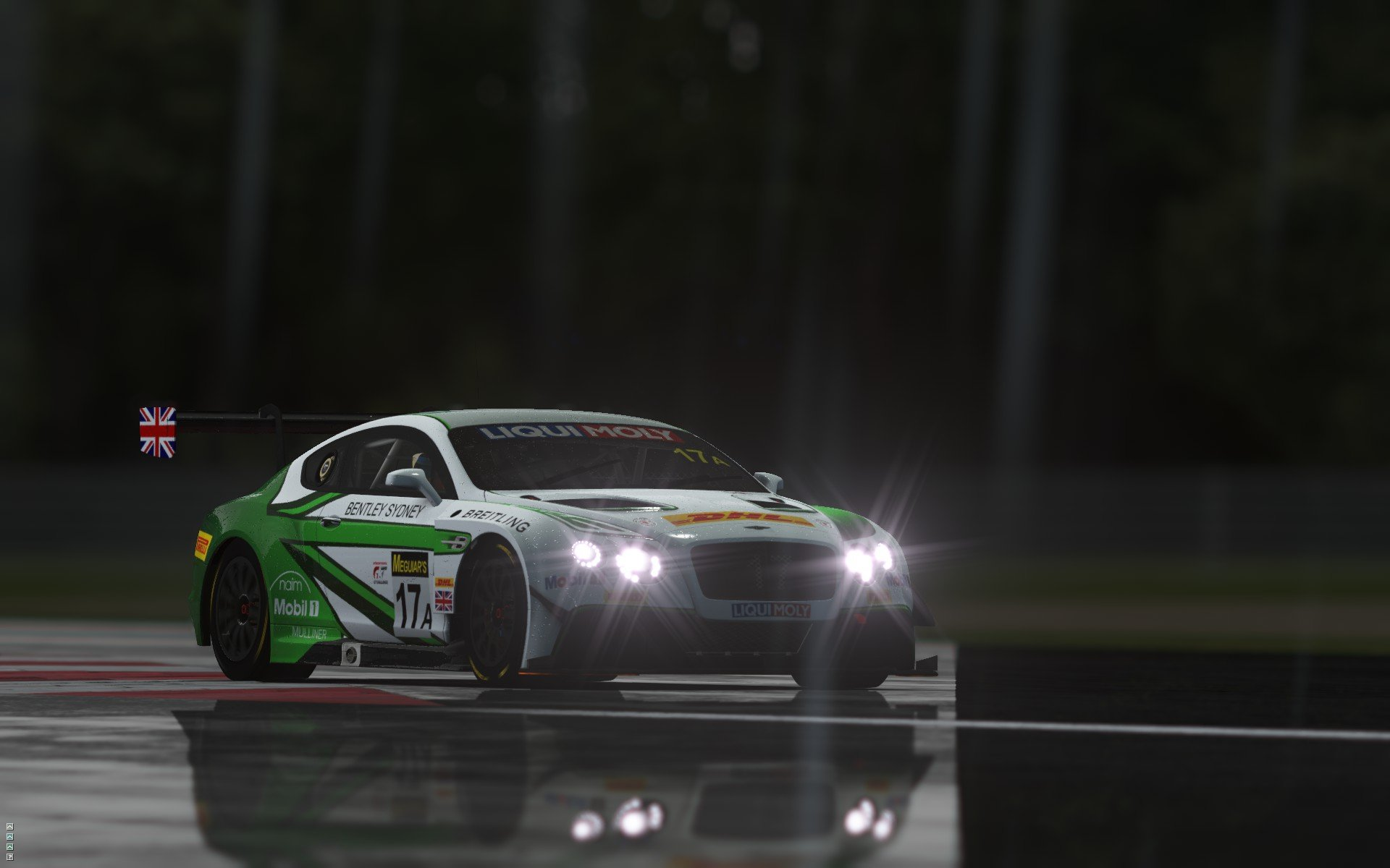 rFactor 2 September roadmap update Bentley Continental GT3 preview 1