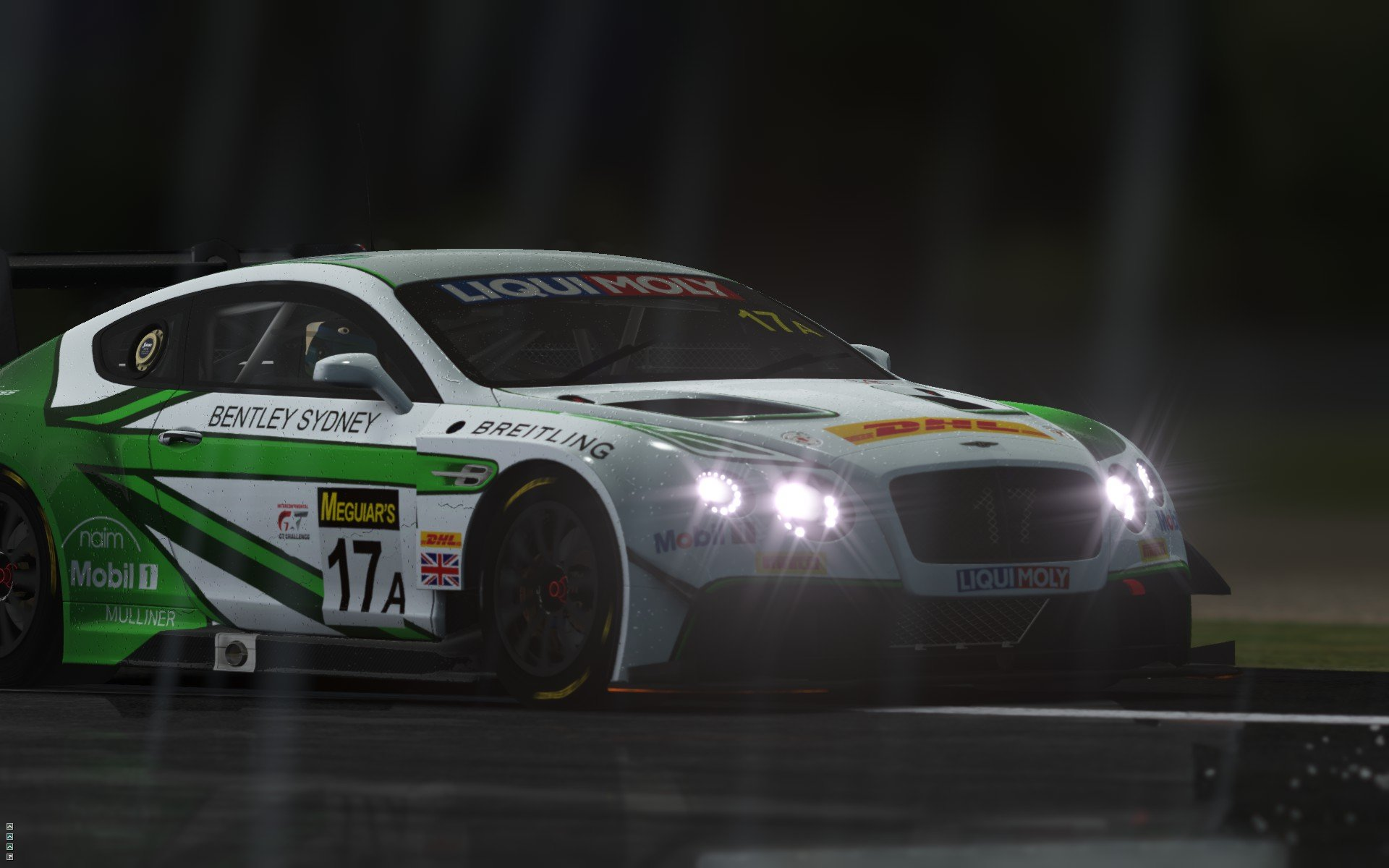 rFactor 2 September roadmap update Bentley Continental GT3 preview 4