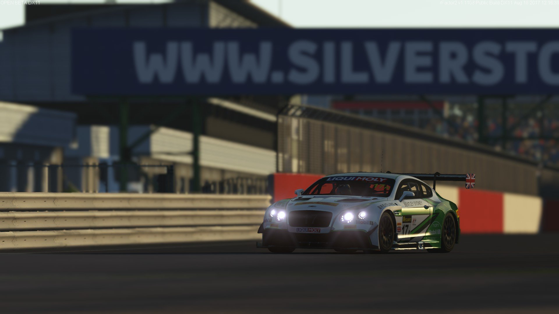 rFactor 2 September roadmap update Bentley Continental GT3 preview 7