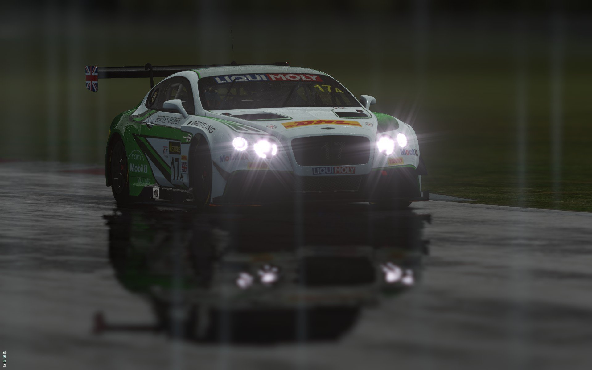rFactor 2 September roadmap update Bentley Continental GT3 preview 8