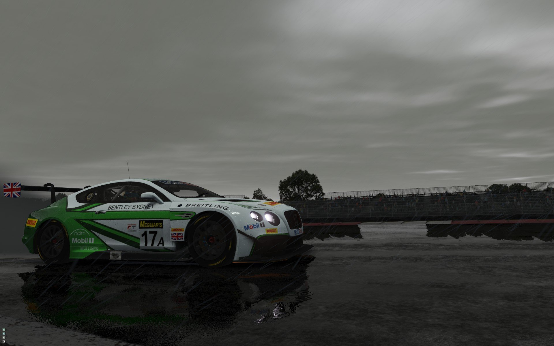 rFactor 2 September roadmap update Bentley Continental GT3 preview 9