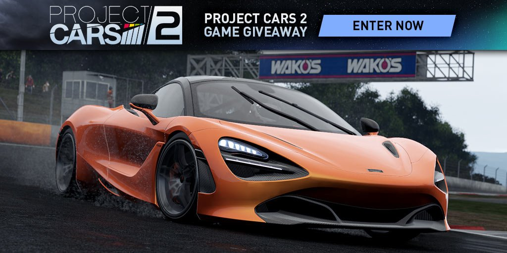 Project CARS 2 Giveaway