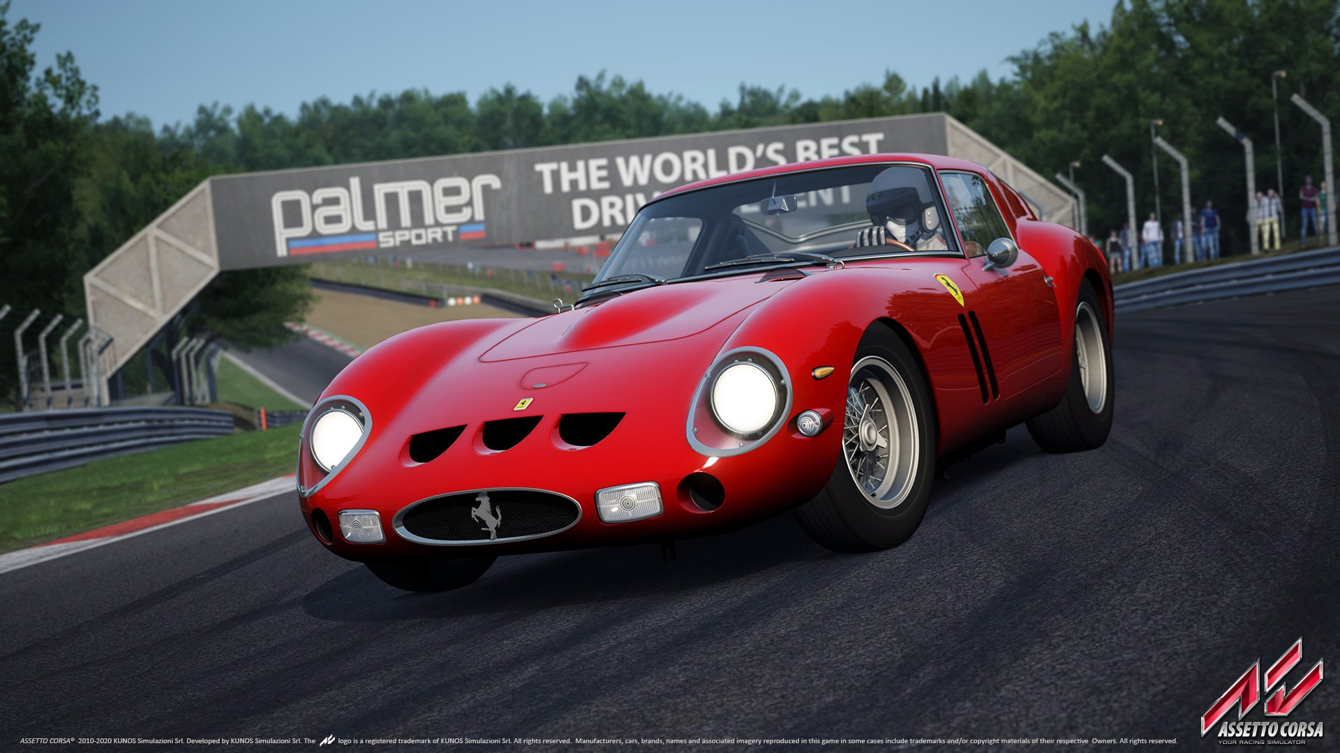 Assetto Corsa Ferrari 250 GTO wallpaper