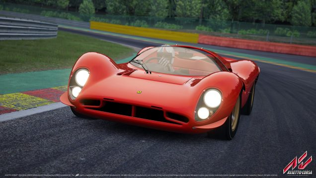 Assetto Corsa Ferrari 330 P4 wallpaper