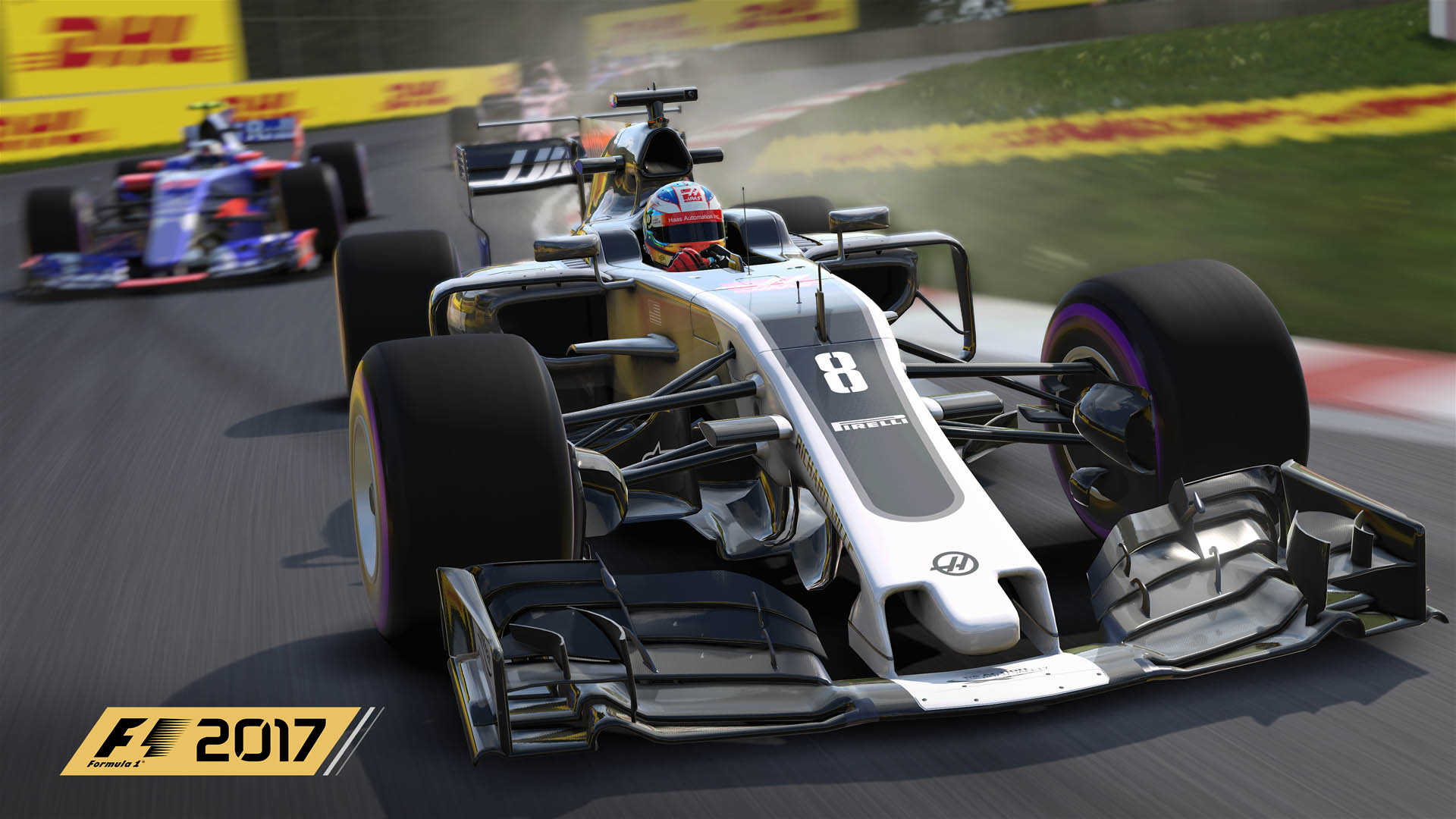 F1 2017 updated Haas livery