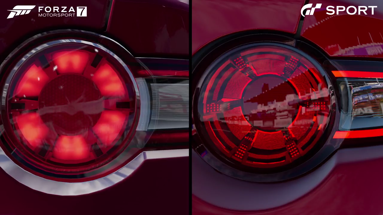 Forza-Motorsport-7-Gran-Turismo-Sport-Mazda-MX-5-rear-lights