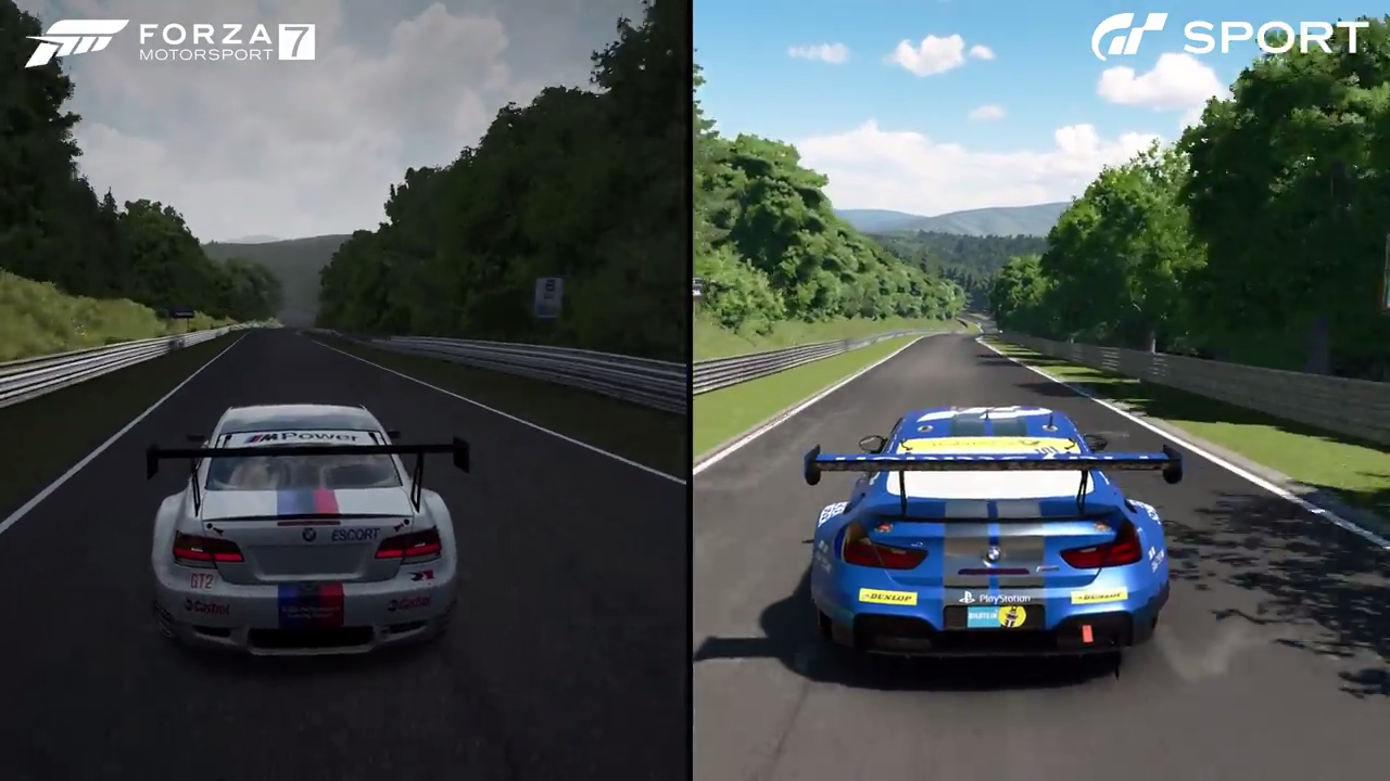 Forza Motorsport 7 Gran Turismo Sport Nordschleife Fuchsrohre