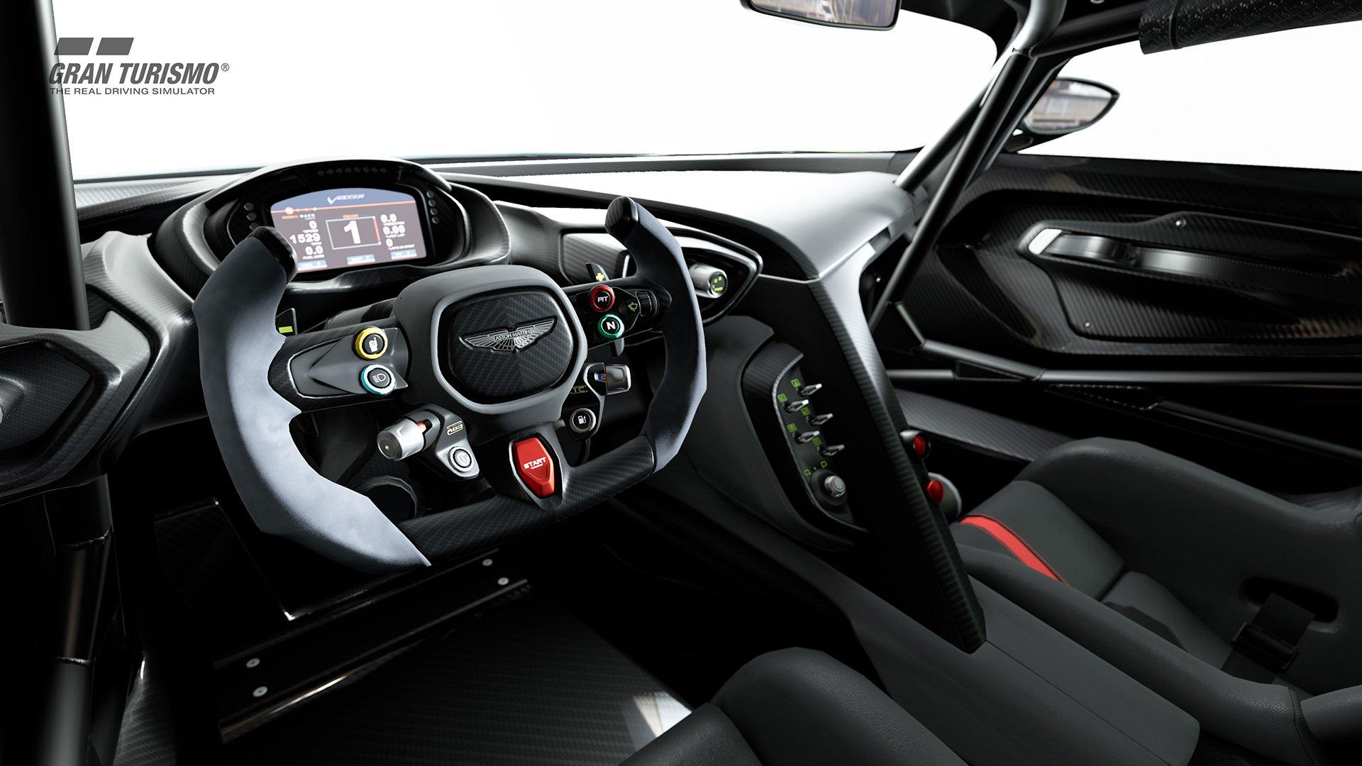 Gran Turismo Sport Aston Martin Vulcan interior