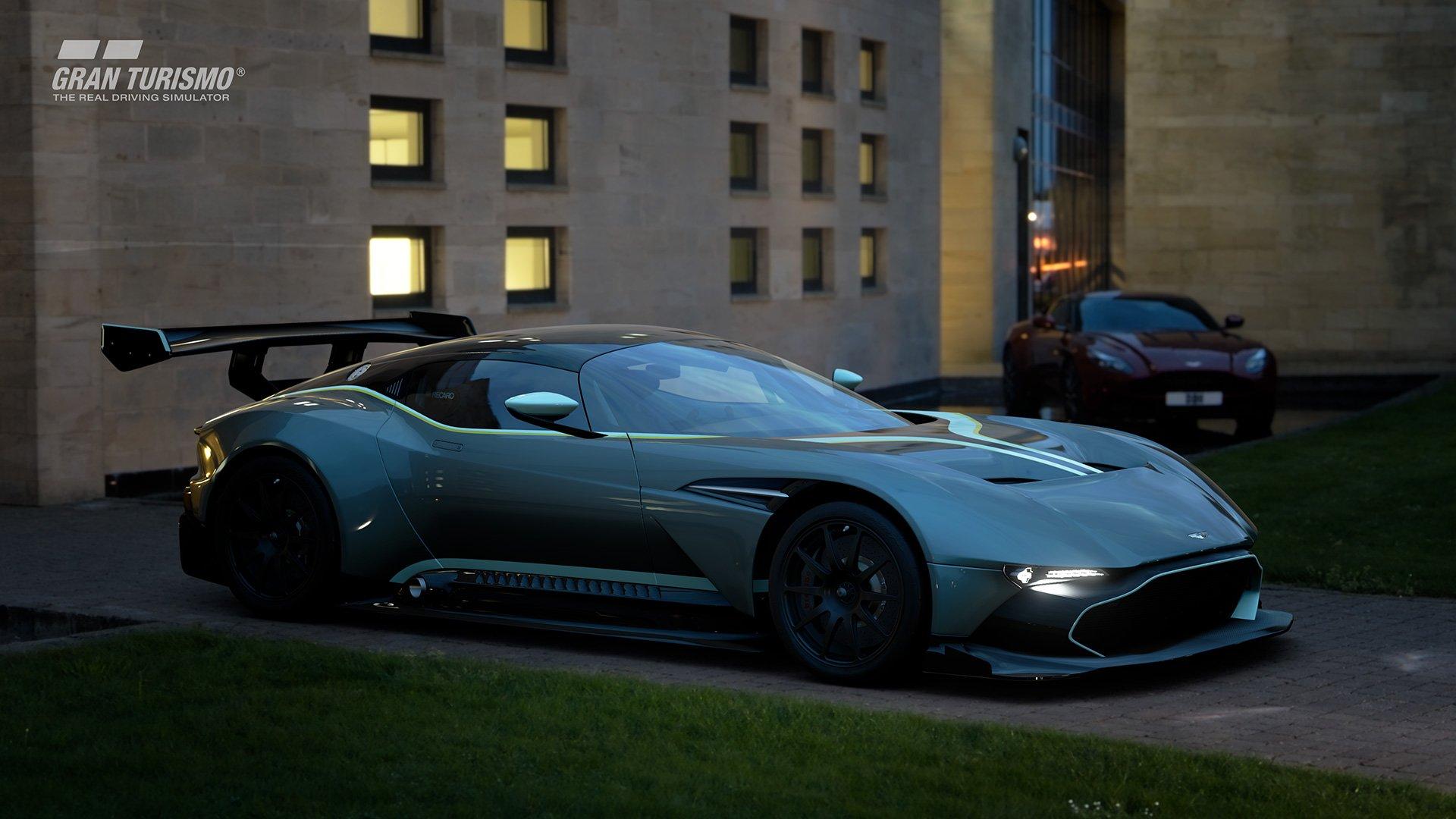 Gran Turismo Sport Aston Martin Vulcan street