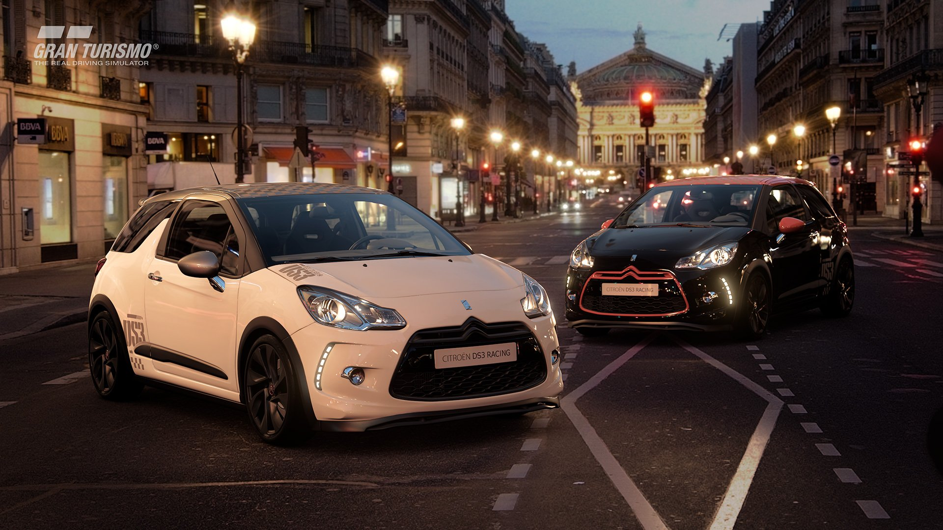 Gran Turismo Sport Citroen DS3 Racing in town