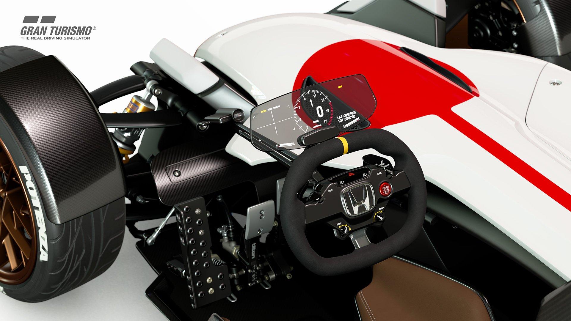Gran Turismo Sport Honda Vision Gran Turismo interior