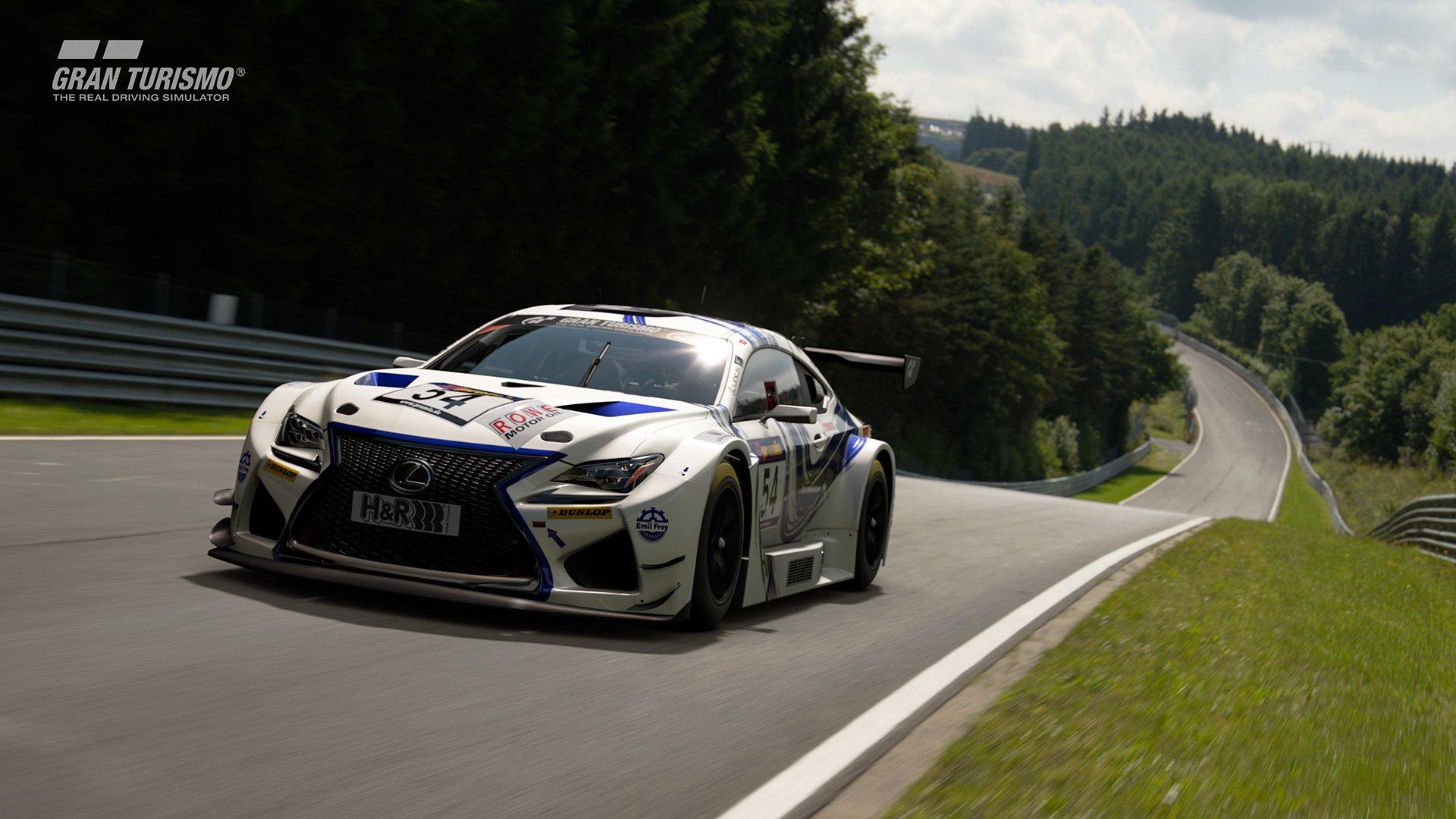 Gran Turismo Sport Lexus GT4 Nurburgring
