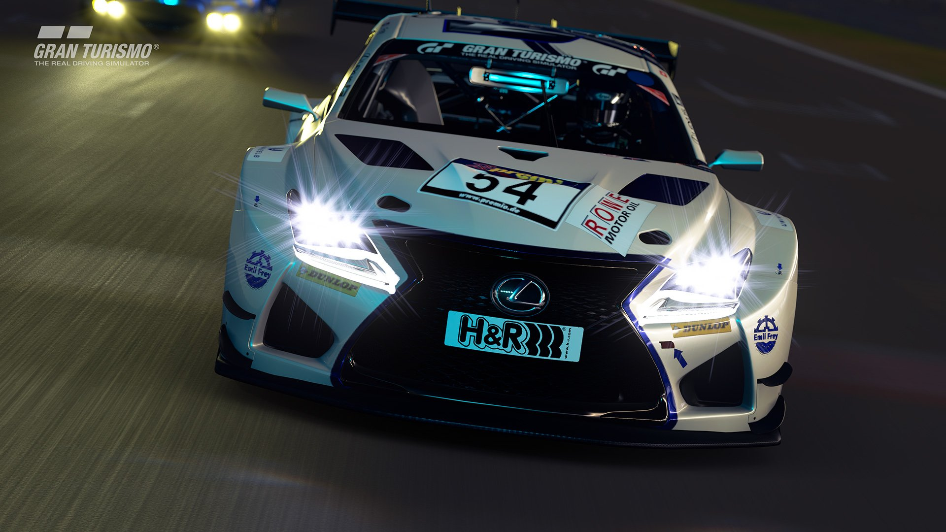 Gran Turismo Sport Lexus GT4 front close up