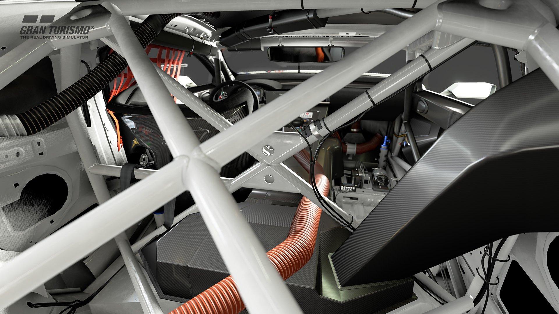 Gran Turismo Sport Lexus GT4 interior