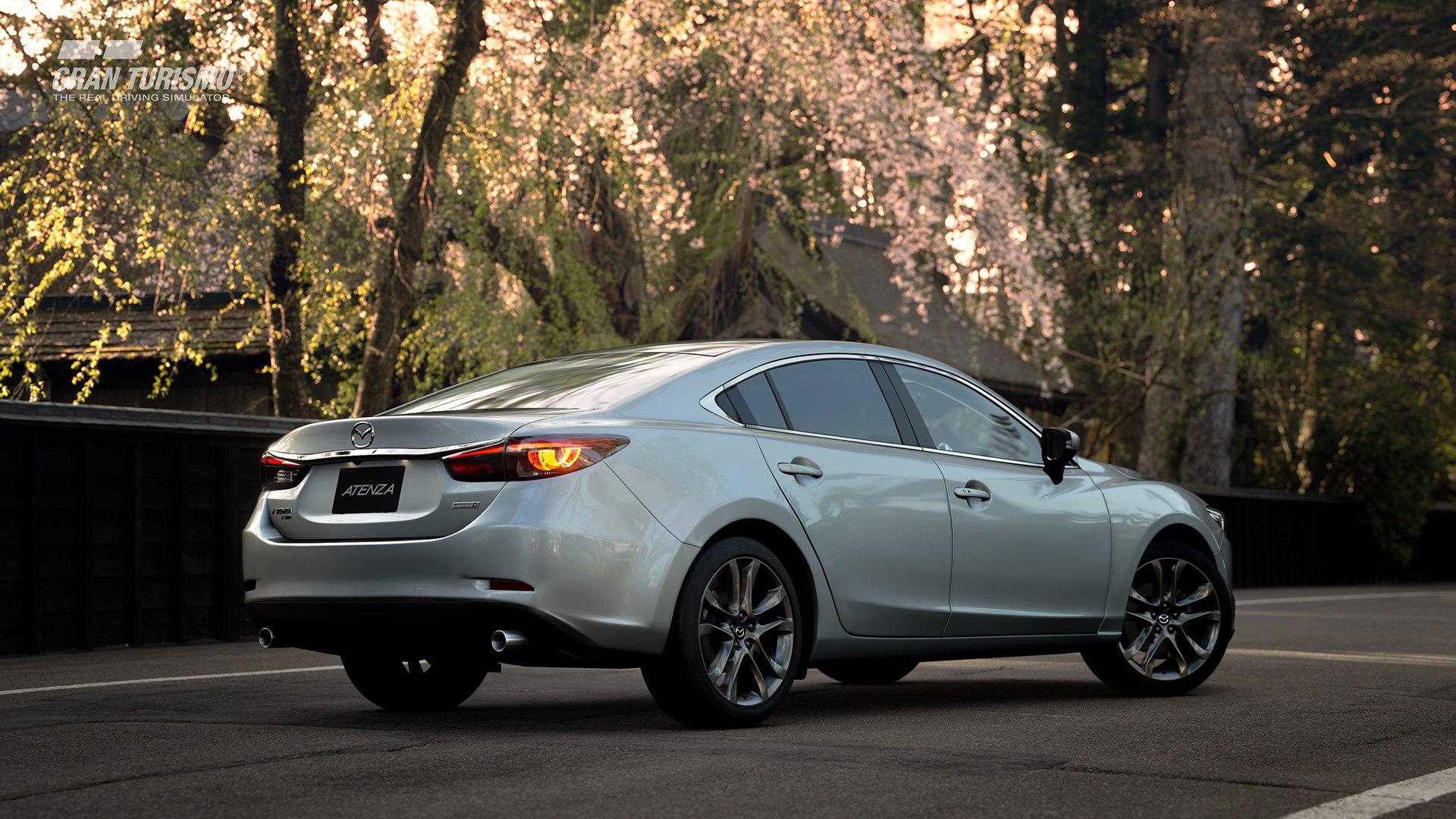 Gran Turismo Sport Mazda Atenza back