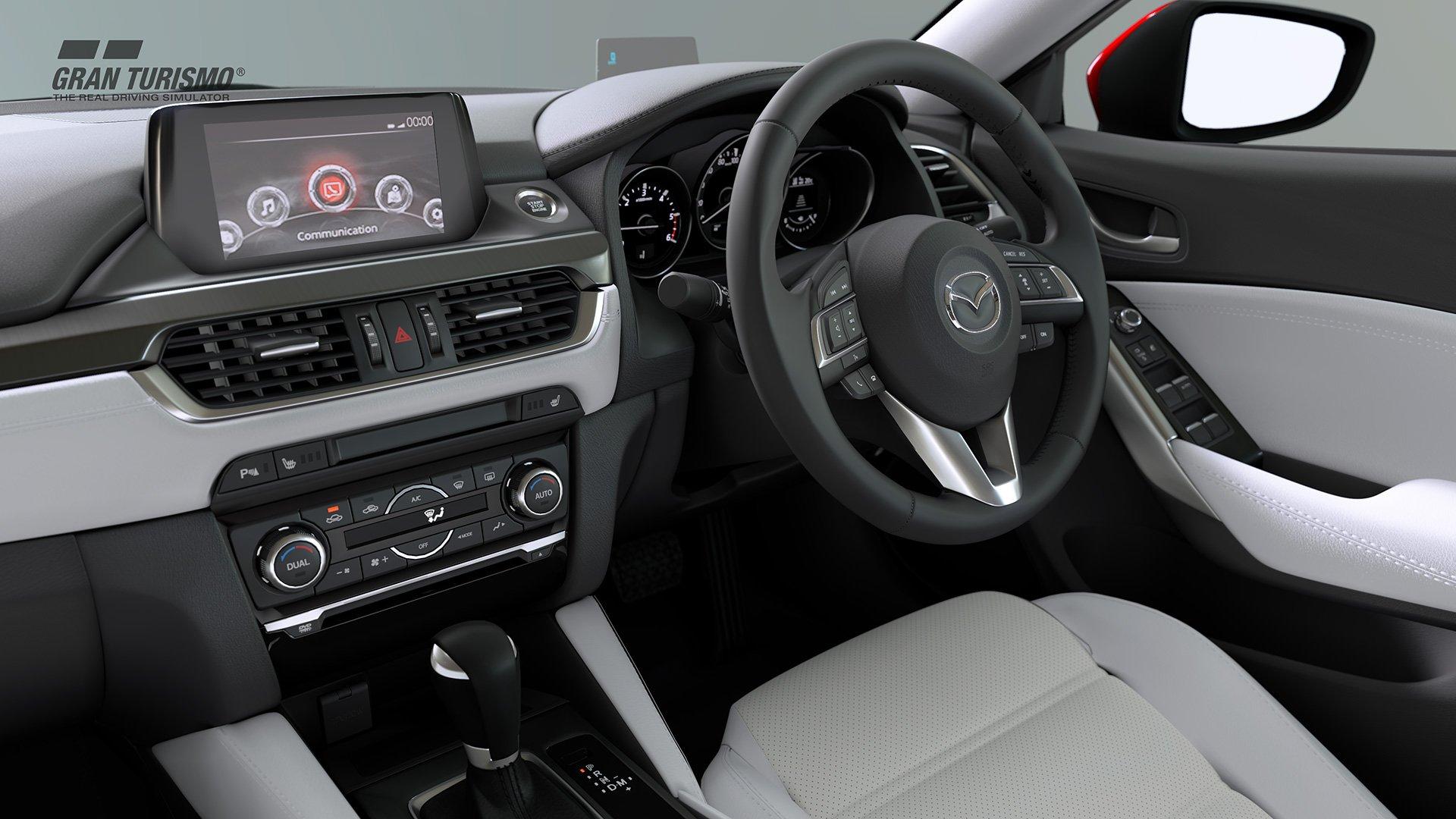 Gran Turismo Sport Mazda Atenza interior
