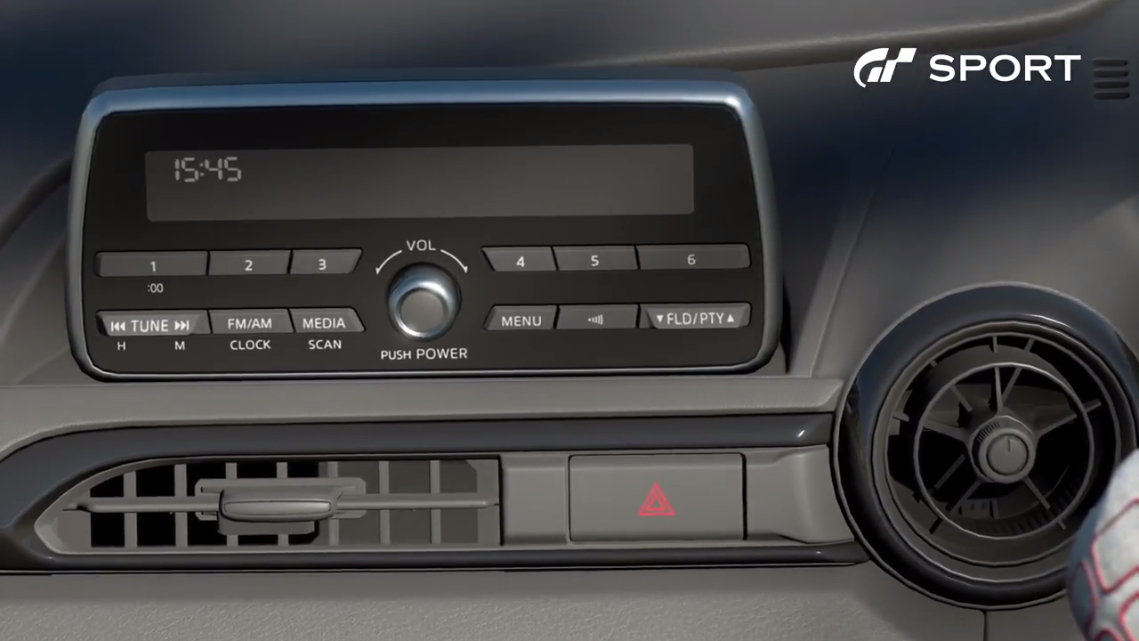 Gran Turismo Sport Mazda MX5 radio
