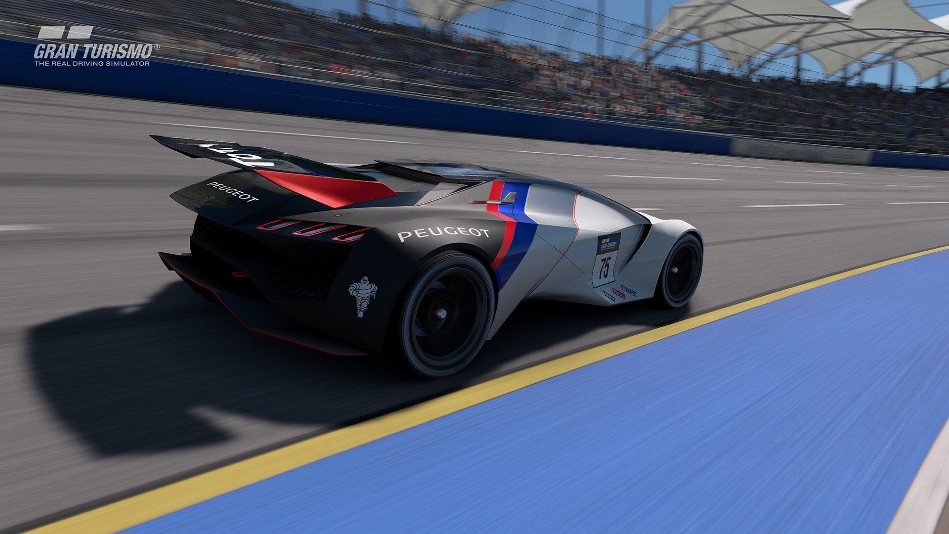 Gran Turismo Sport Peugeot Vision Gran Turismo oval