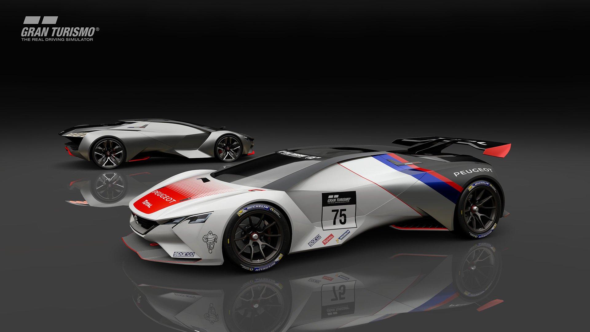 Gran Turismo Sport Peugeot Vision Gran Turismo