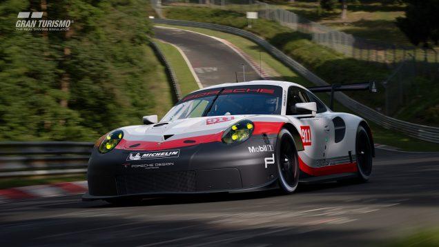 Gran Turismo Sport Porsche 911 RSR Nurburgring