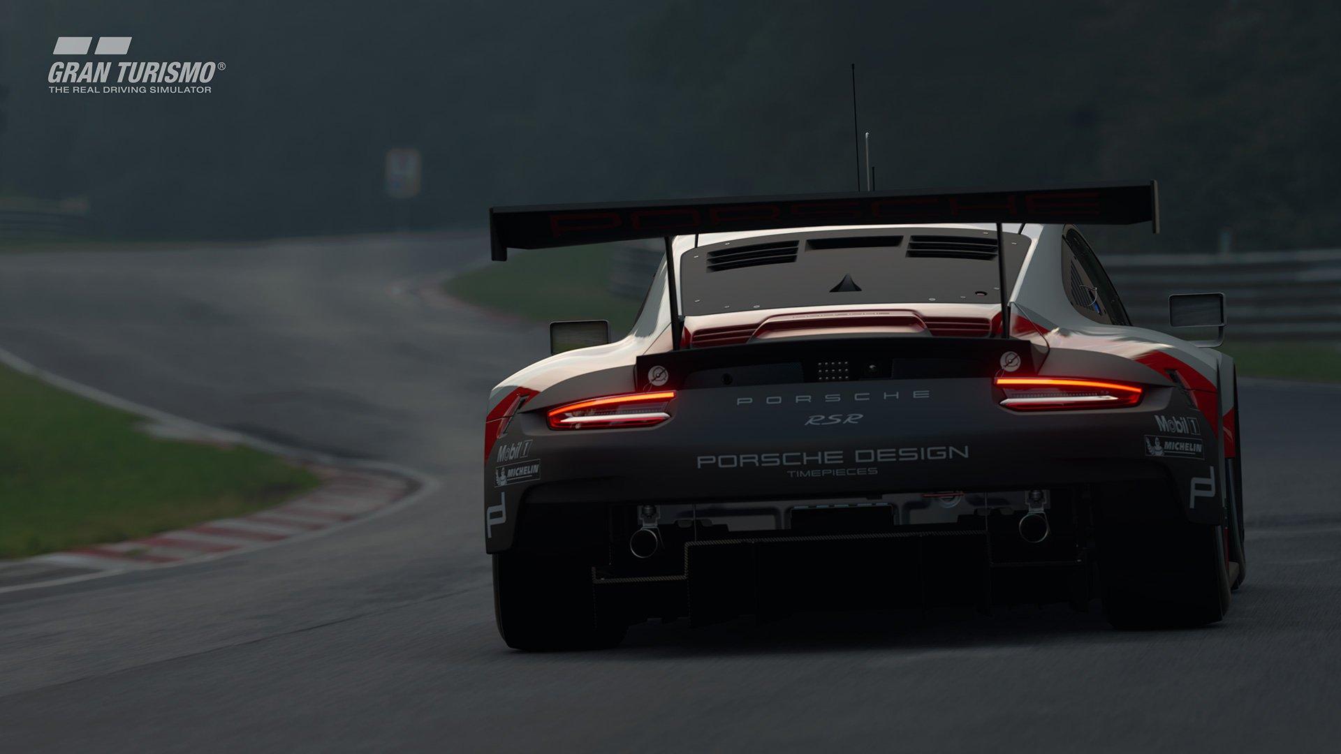 Gran Turismo Sport Porsche 911 RSR back