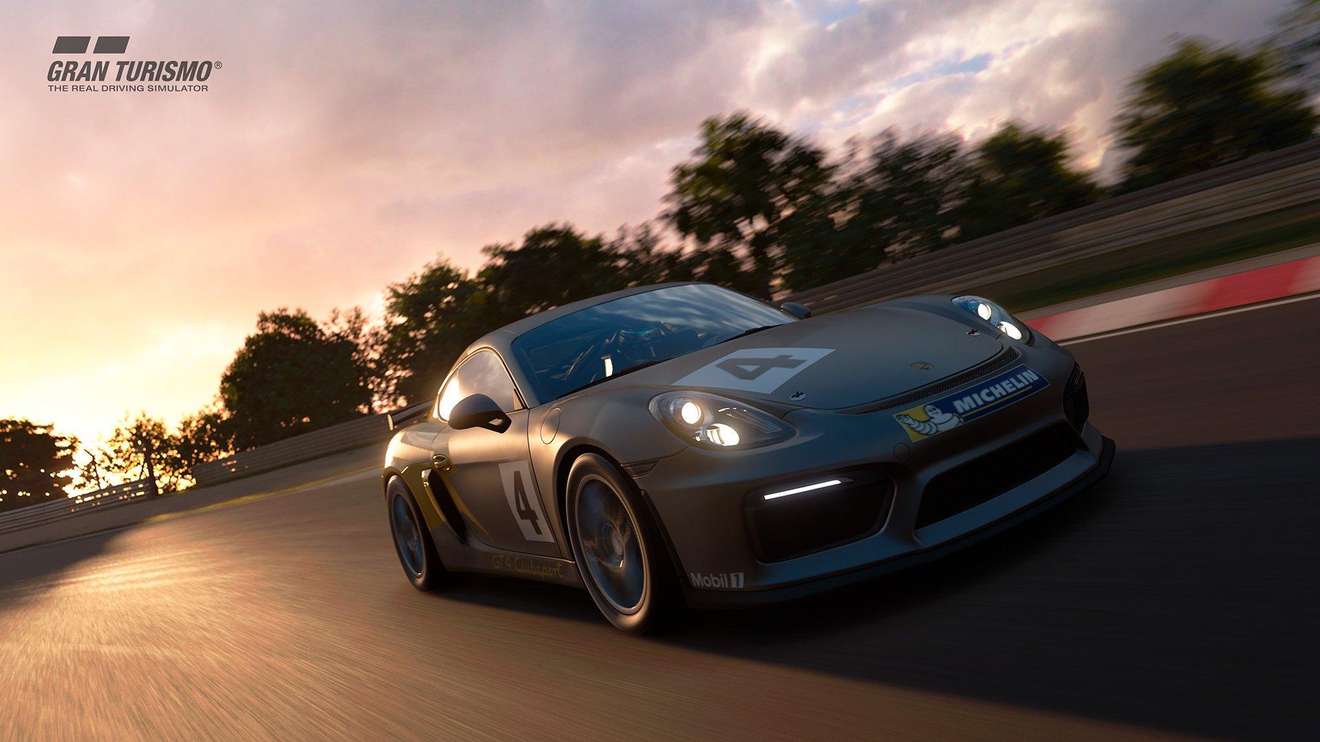 Gran Turismo Sport Porsche Cayman GT4 susnet