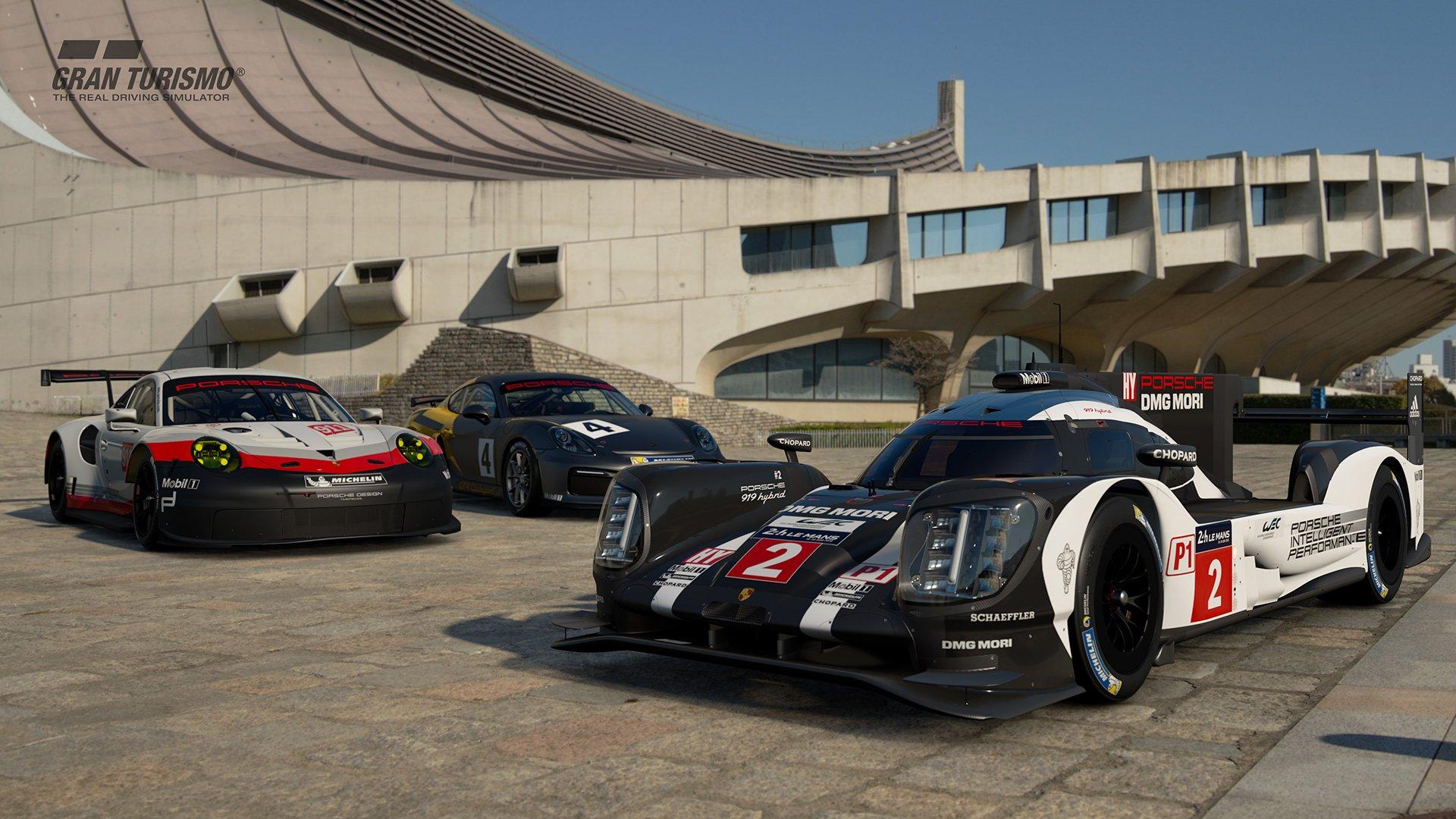 Gran Turismo Sport Porsches