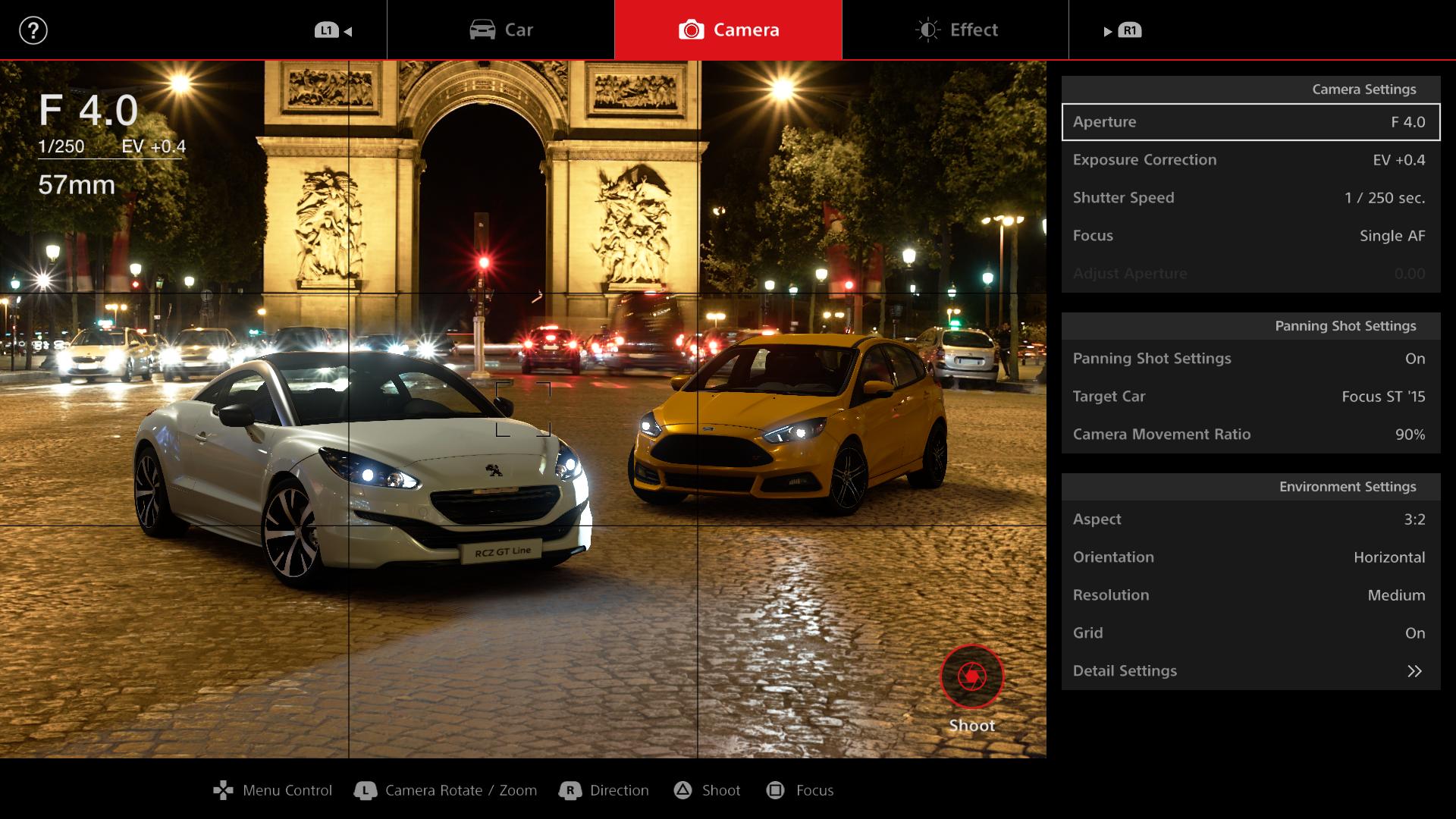 Gran Turismo Sport demo Scape photo mode