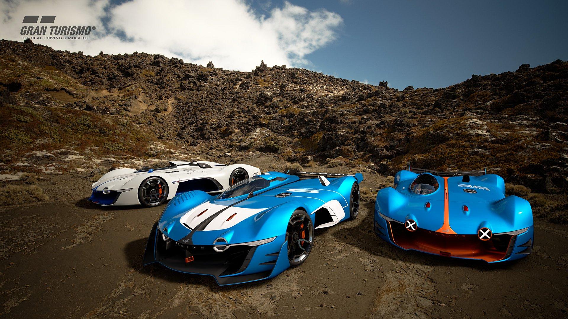 Gran Turismo Sport several Alpina Vision Gran Turismo