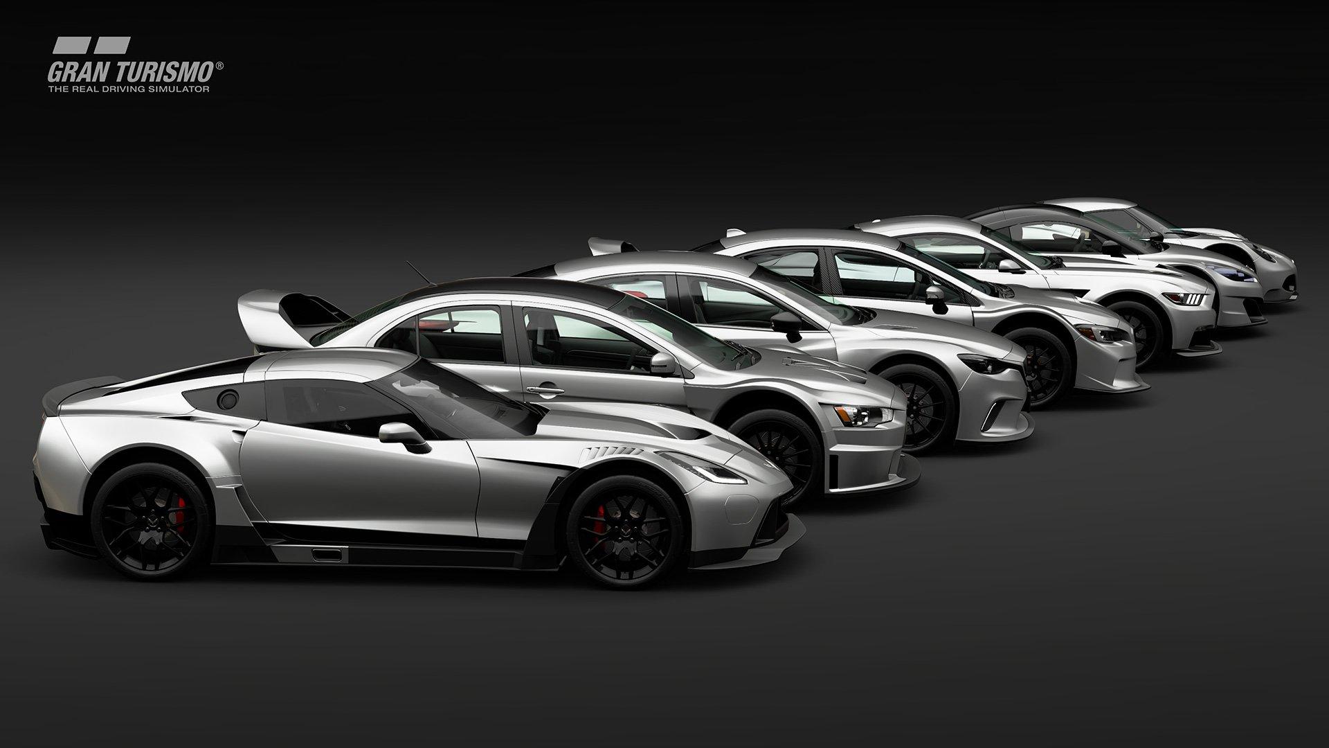 Gran Turismo Sport silver road cars