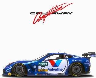 rFactor 2 Callaway Corvette C7 R GT3