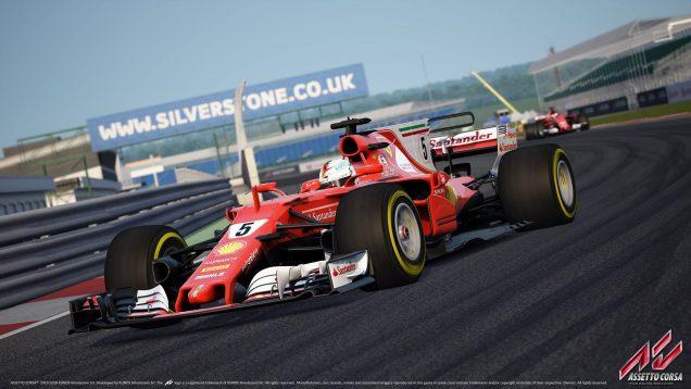 Assetto Corsa Ferrari SF70H