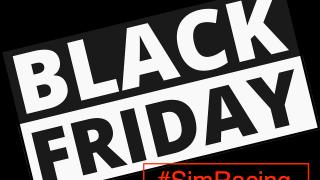 Black Friday Logo SimRacing