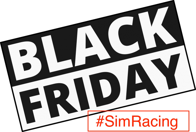 Black Friday Logo SimRacing