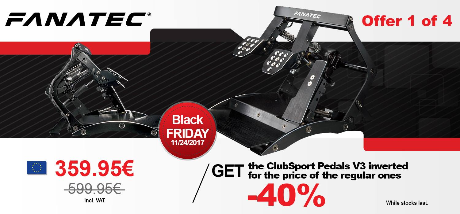 Fanatec Black Friday 1