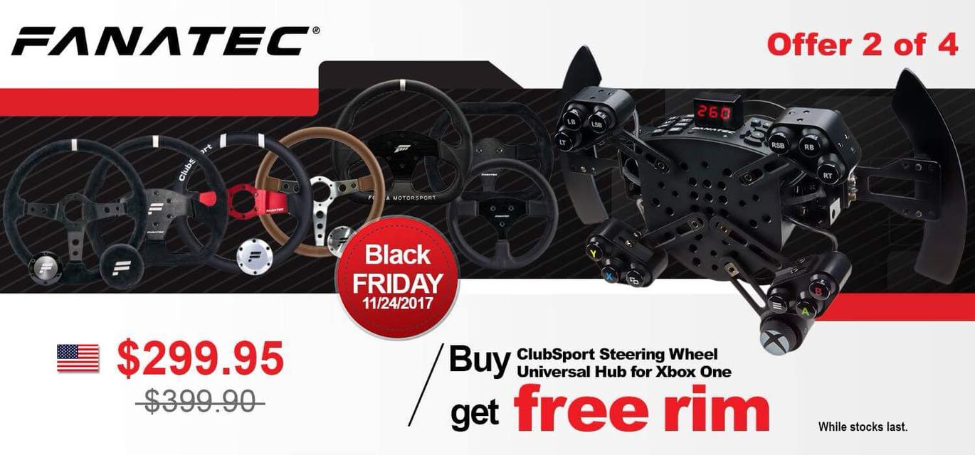 Fanatec Black Friday 2