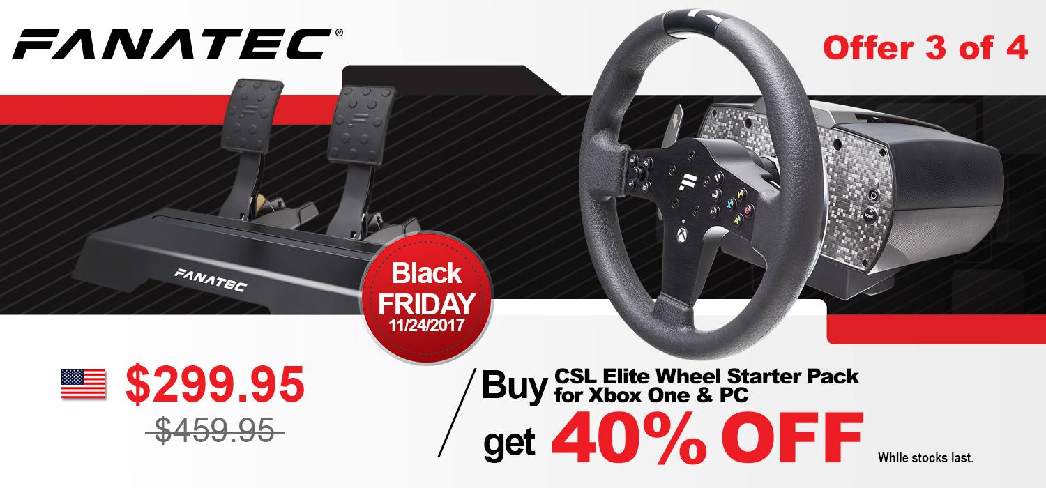 Fanatec Black Friday 3