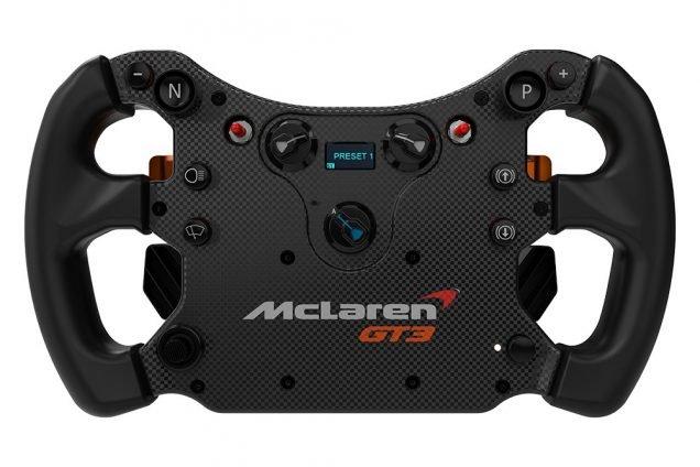 Fanatec CSL McLaren GT3 wheel 2