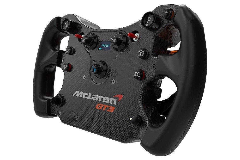 Fanatec CSL McLaren GT3 wheel 3