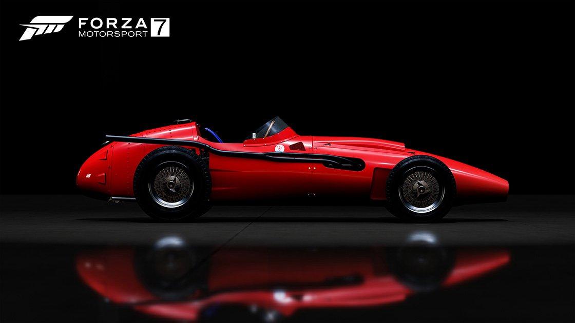 Forza Motorsport 7 Samsung QLED car pack Maserati 250F