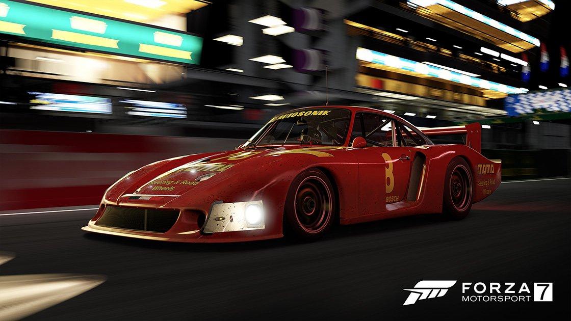 Forza Motorsport 7 Samsung QLED car pack Porsche 935 78 Moby Dick