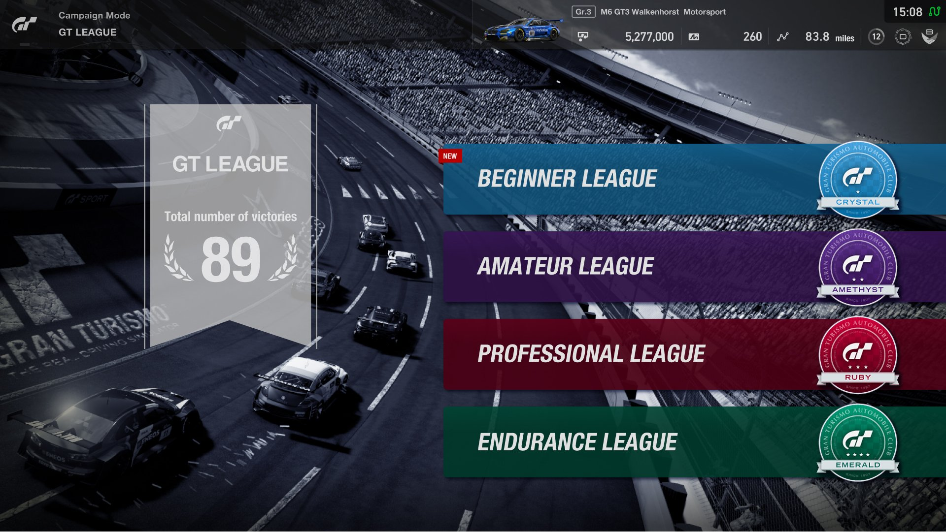 Gran Turismo Sport GT Leauge overview