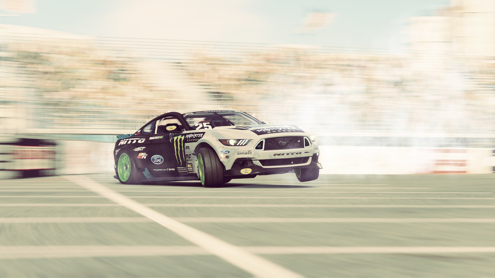 Project CARS 2 Fun Pack Ford Mustang drift