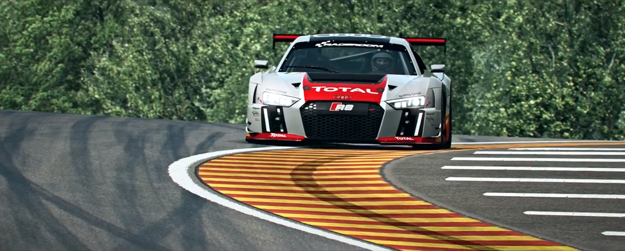 RaceRoom Audi R8 LMS GT3 trailer screenshot 1