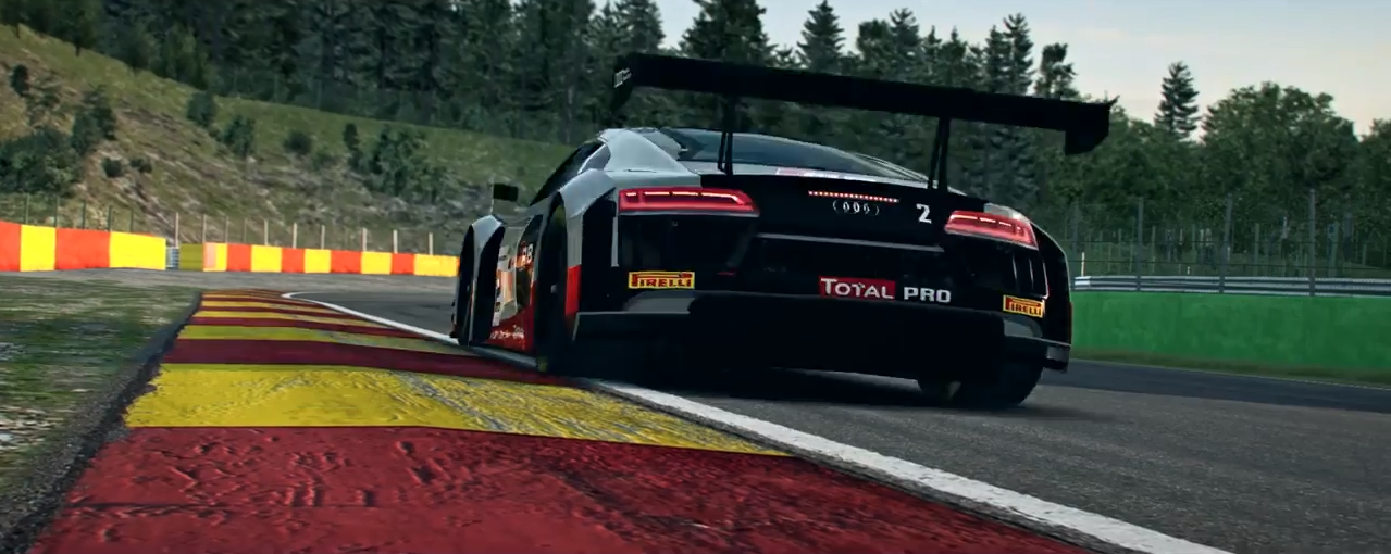 RaceRoom Audi R8 LMS GT3 trailer screenshot 2