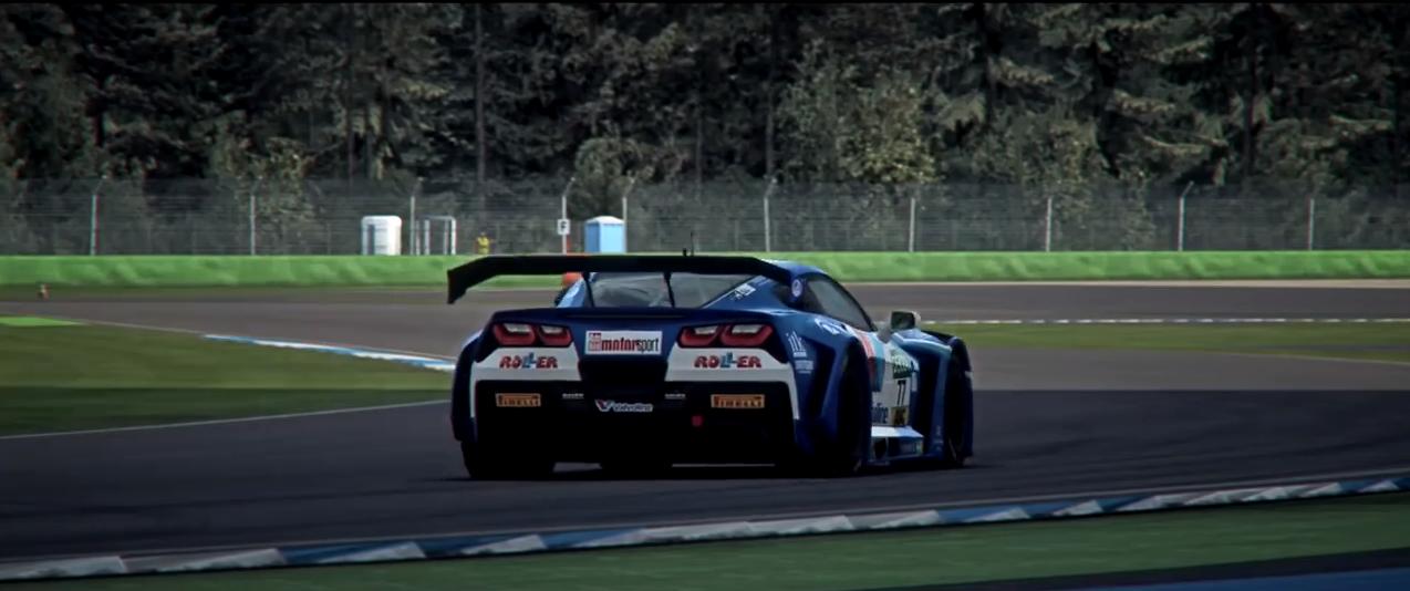 RaceRoom Callaway Corvette C7 GT3-R trailer screenshot 2